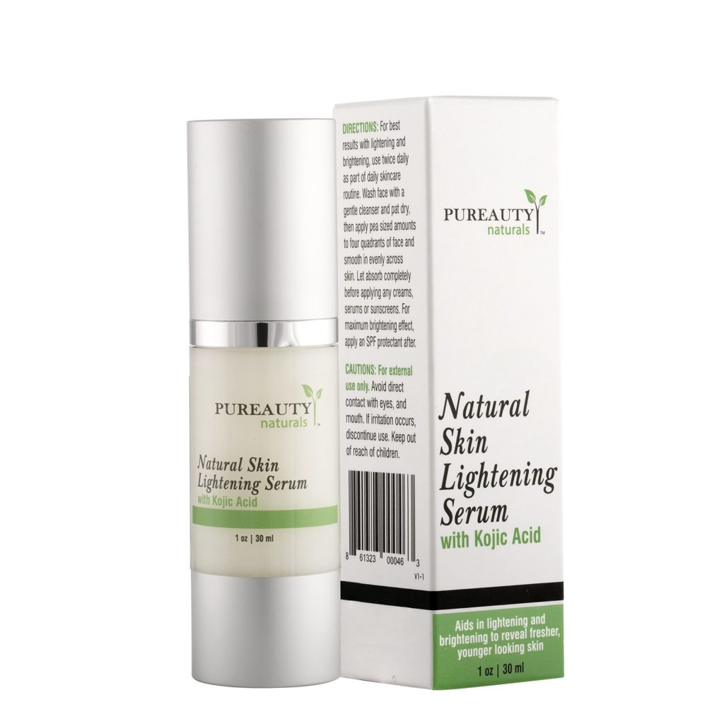 Natural Skin Lightening Serum by Pureauty Naturals