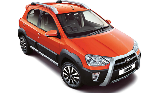 Toyota Etios Cross Test Drive